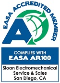 EASA Accreditation Certification - Motor Repair Service Organization